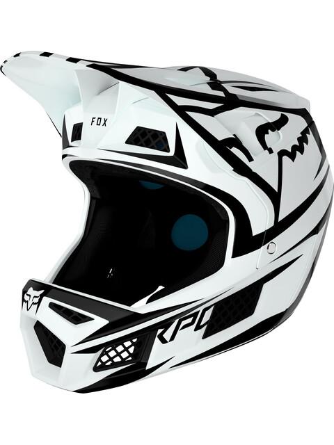 Fox Rampage Pro Carbon Bst Full Face Helmet Men white